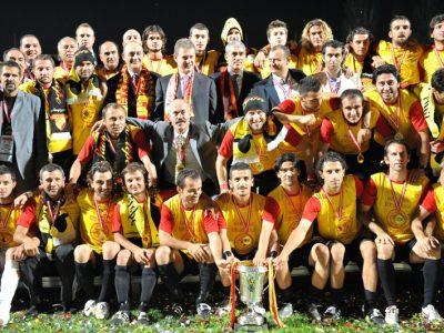Göztepe 3 ncü lig Şampiyonluğu Kupa Töreni
